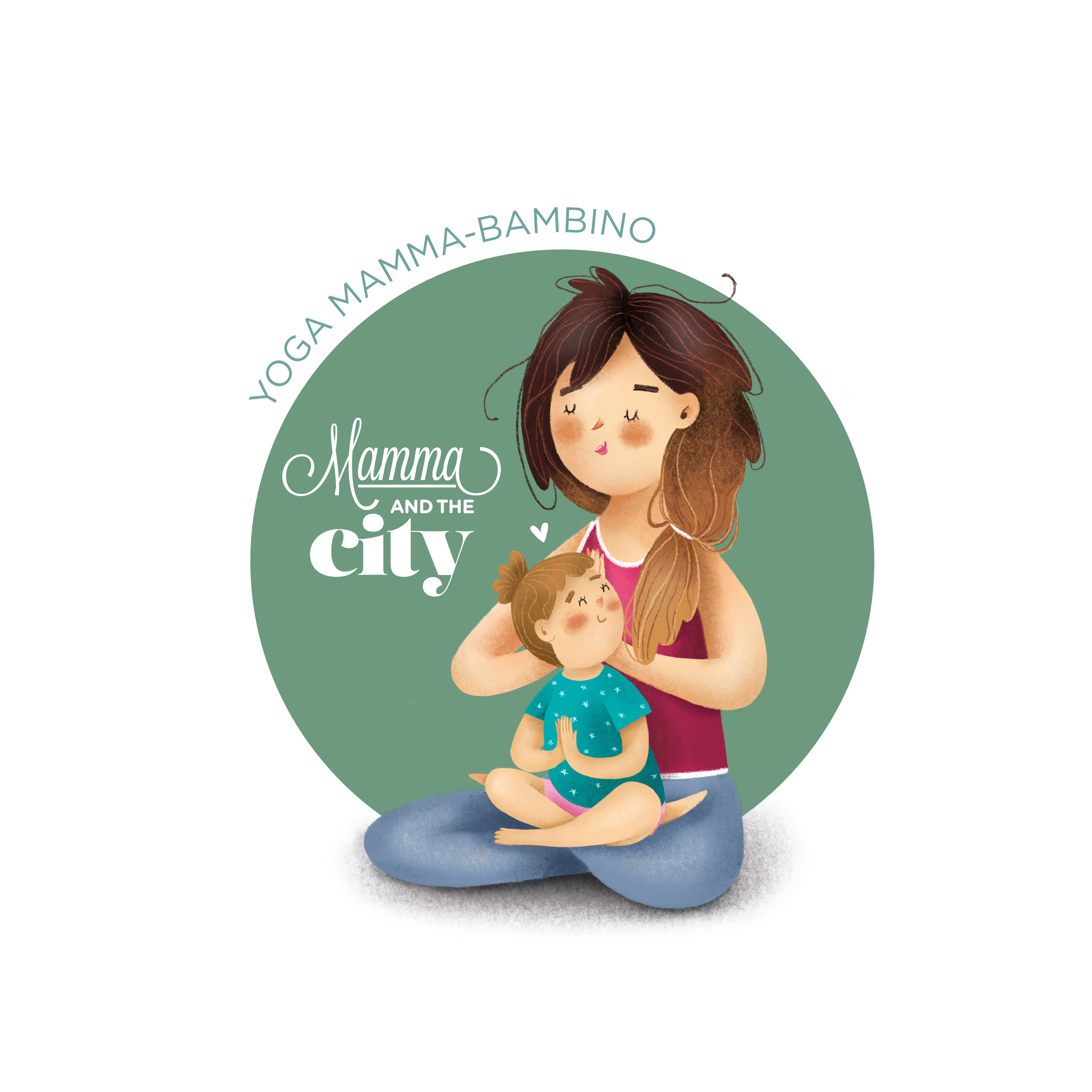 mamma and the city – YOGA mamma bimbo