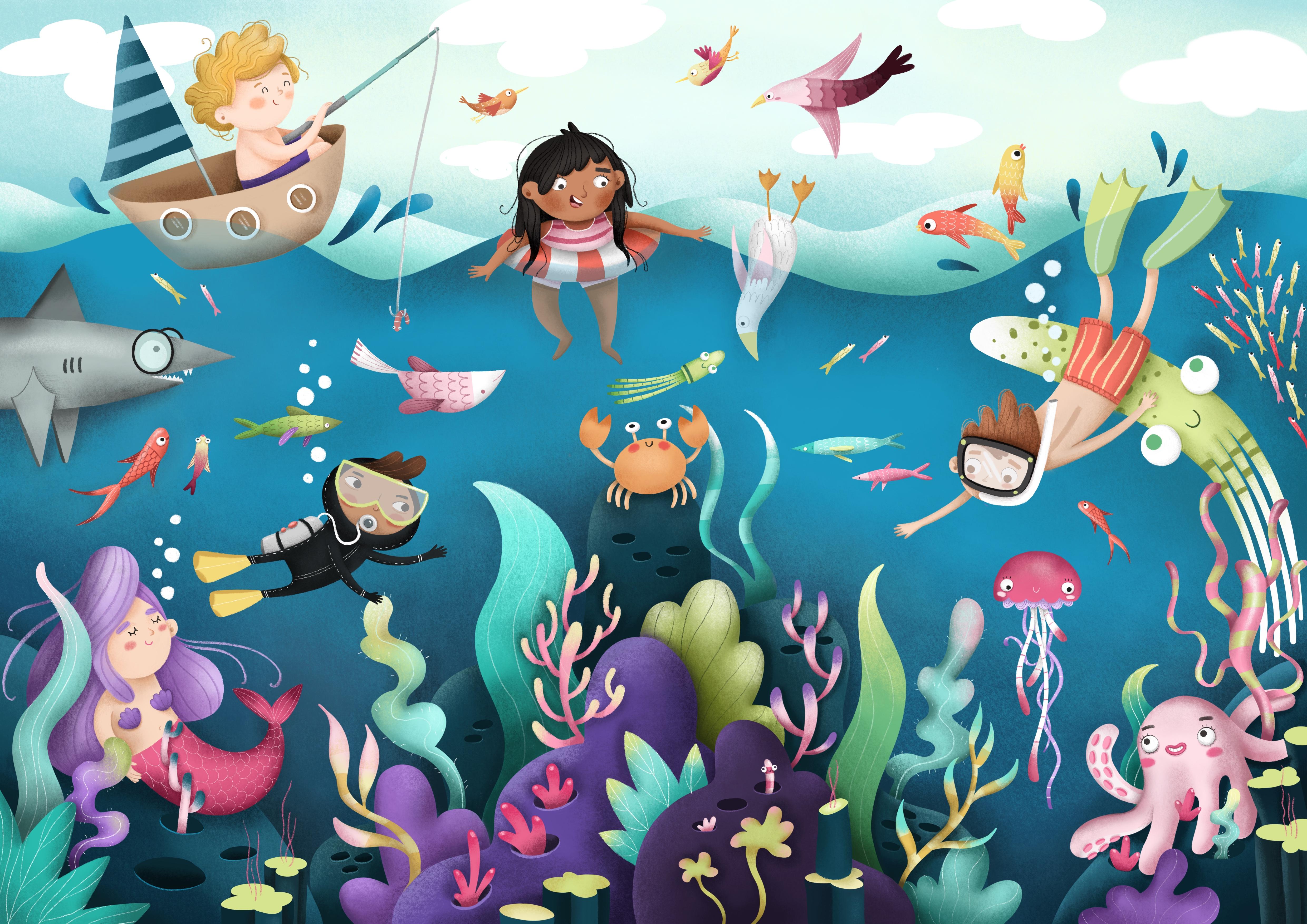 Underwater – Elena Della Rocca
