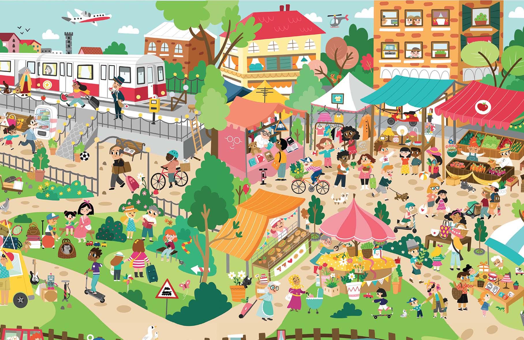 Poster attivo infanzia