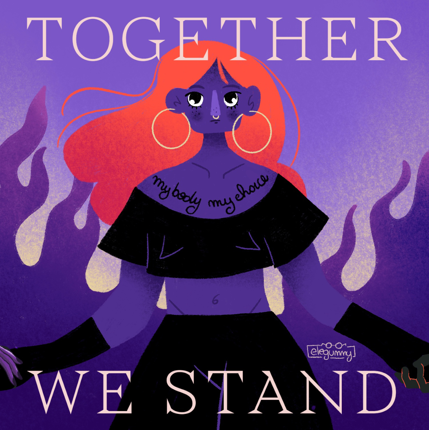 Together we stand-Elena