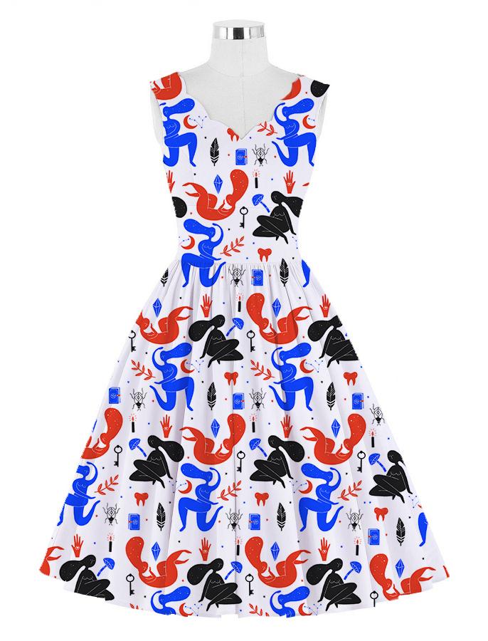 dress mockup